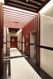 Elevator. Modern elevator in a commercial building Royalty Free Stock Photo
