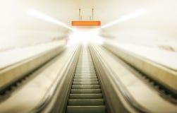 Elevator through brightness Stock Photos
