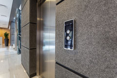 Elevator in business centre Stock Photography