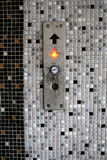 Elevator button Stock Photography