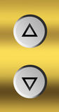 Elevator button Stock Images