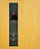 Elevator Button R royalty free stock image