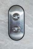 Elevator Button up and down direction Royalty Free Stock Photography