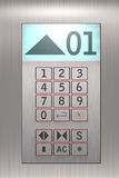 Elevator Buttons Stock Images