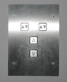 Elevator buttons Royalty Free Stock Photography