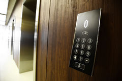 Elevator buttons Stock Image