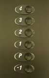 Elevator Buttons Stock Photography