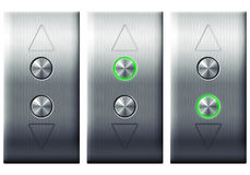 Elevator buttons. Stock Photography