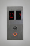 Elevator buttons Royalty Free Stock Images