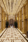The elevator and corridors Royalty Free Stock Photos