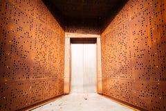 Elevator door Royalty Free Stock Image