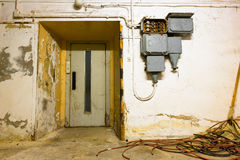 The elevator doors closed Royalty Free Stock Photography
