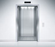 Elevator Doors Open Stock Photos