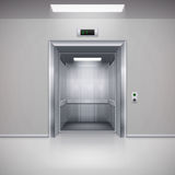 Elevator Doors Royalty Free Stock Images