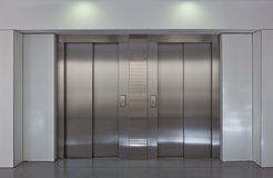 Elevator doors Stock Photography