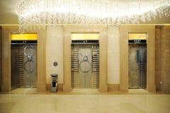 Elevator entrance Stock Photo