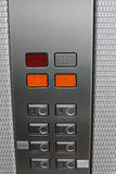 Elevator floor numbers Royalty Free Stock Photos