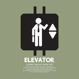 Elevator Graphic Symbol Royalty Free Stock Image