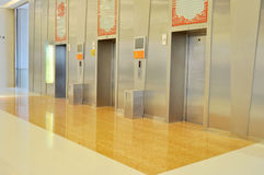 Elevator hall Stock Image
