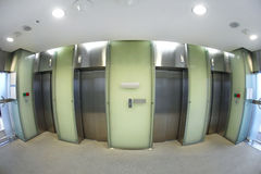Elevator hall Royalty Free Stock Photo