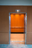 Elevator Lift Entrance Door Open Royalty Free Stock Photos