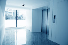 Elevator lobby Royalty Free Stock Photo