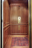 Elevator in luxury home. Elevator with floor design in luxury home Royalty Free Stock Photography