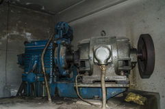 Elevator machine Stock Images