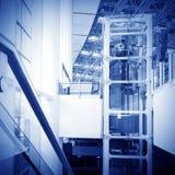 Elevator, modern building interior Stock Photography