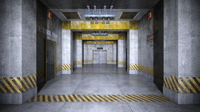 Elevator passage Stock Image