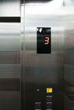 Elevator push-button Royalty Free Stock Photo