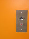Elevator push button Stock Image