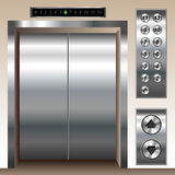 Elevator set Royalty Free Stock Photos