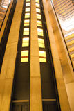 Elevator shaft Royalty Free Stock Images