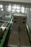 Elevator shaft Stock Images