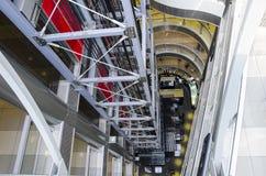 Elevator shaft Royalty Free Stock Image