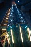 Elevator shaft Royalty Free Stock Photos