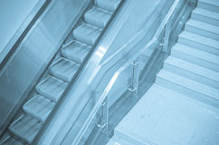 Elevator and staircase Stock Photography