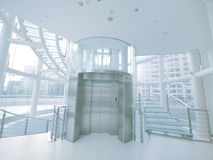 Elevator and staircase Stock Photos