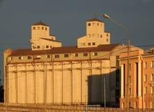 Elevator Stock Company Πετρούπολη αποθήκες εμπορευμάτων Στοκ φωτογραφίες με δικαίωμα ελεύθερης χρήσης