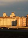 Elevator Stock Company Πετρούπολη αποθήκες εμπορευμάτων Στοκ Φωτογραφία