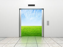 Elevator to field Royalty Free Stock Photo