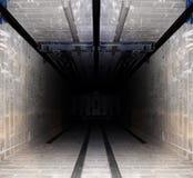 Elevator tube Royalty Free Stock Photo