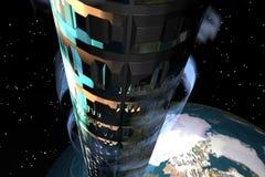 elevator1 przestrzeni ilustracji