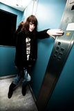 In elevatore Fotografia Stock Libera da Diritti