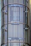 Elevatore all'aperto di vetro Fotografie Stock