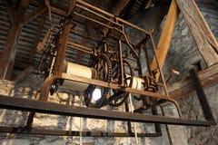Elevatore arrugginito del metallo Immagini Stock Libere da Diritti
