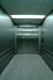 Elevatore d'acciaio Fotografie Stock