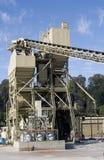 Elevatore dell'iarda del cemento Fotografia Stock Libera da Diritti