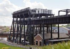 Elevatore della barca di Anderton Fotografie Stock